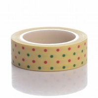 Spotty dotty pattern, Decorative Washi Tape, Cards, Crafts,Tape