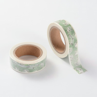 Cats & Kittens 15mm Washi Tape, 10m, Cat Decorative Tape, Cards, Journals, Craft