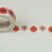 Christmas Baubles 15mm Washi Tape, 10m,  Decorative Tape, Cards,