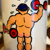 Funny Mug For Weight-Lifter
