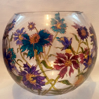 Cornflower Bubble Bowl -  to order