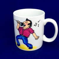 Karaoke Mug -for the crooner in your life