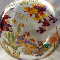 Hand Painted Fish Bowl -To Order