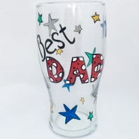 Personalised Beer Glass, personalised pint glass to order