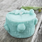 Foraged Acorn Sculpted Vegan Candle: Turquoise