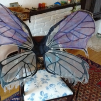 Large Gothic Butterfly Wings