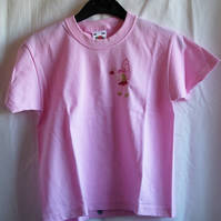 Pink fairy T-shirt age 3-4 years