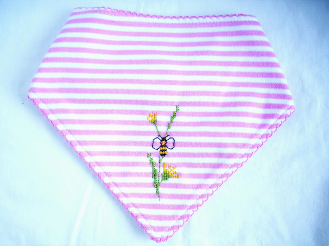 Bee dribble bib