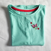 Butterfly T-shirt Age 3-4