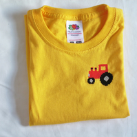 Tractor T-shirt age 2-3
