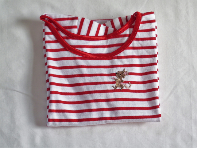 Mouse T-shirt Age 3-6 months