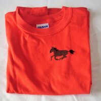Horse T-shirt Age 5-6