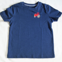 Tractor T-shirt Age 9-12 months