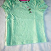 Bee T-shirt Age 12-18 months