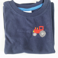 Tractor T-shirt age 2