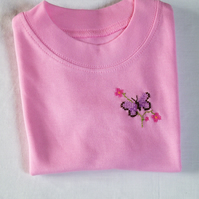 Butterfly T-shirt Age 3-6 months