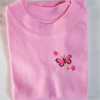 Butterfly T-shirt Age 1-2 years
