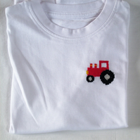 Tractor T-shirt Age 4