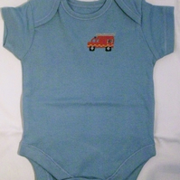 Fire Engine Vest age 3-6 months