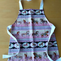 Merry-go-round Horse Apron age 2-6 approximately
