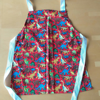 Dinosaur Apron age 2-6 approximately