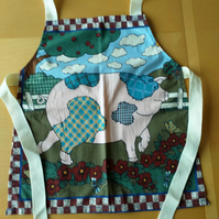 Patchwork Pig Apron age 2-6 approximately