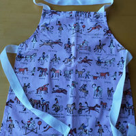 Horse Cartoon Apron age 2-6 approximately