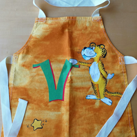 Leopard with a 'V' Apron age 2-6 approximately
