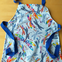 Dragonfly Apron age 2-6 approximately