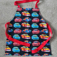 Rally Car Apron age 2-6 approximately