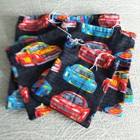 Pack of 4 Rally Car Drawstring Bags