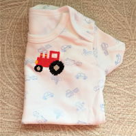 Tractor Vest Age 0-3 months