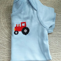 Tractor Vest age 6-9 months
