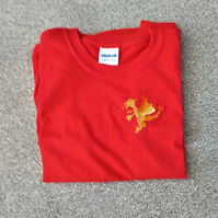 Dragon T-shirt age 8-10 (S youth)