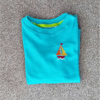 Boat Long-sleeve T-shirt age 2