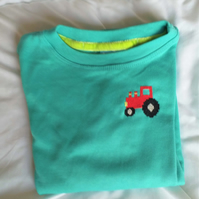Tractor Long-sleeve T-shirt age 4