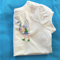 Bluebell Fairy T-shirt age 2-3 years.