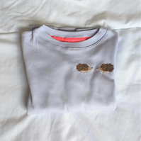Hedgehog Long-sleeve T-shirt age 3