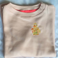 Duckling Long-sleeve T-shirt age 3