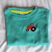 Tractor Long-sleeved T-shirt age 2