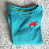 Fire Engine Long-sleeve T-shirt Age 3.