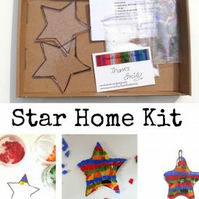 Fused Glass Star Home Kits, suitable for all ages