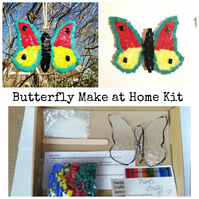 Fused Glass Butterfly Home Kit, suitable for all ages