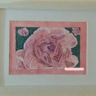 Pink Carnation Oil Painting
