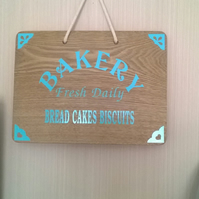 Kitchen Bakery Sign