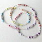 Long Multicoloured Beaded Necklace