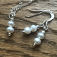 REDUCED- Fabulous freshwater pearl necklace and earrings - free UK postage