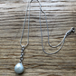 Fabulous white freshwater pearl pendant 17.50, earrings 15.00 FREE POSTAGE