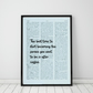 The Best Time To Start Becoming The Person... Wall Print, Office Quote Print