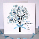Personalised Handmade Luxury Christmas Card